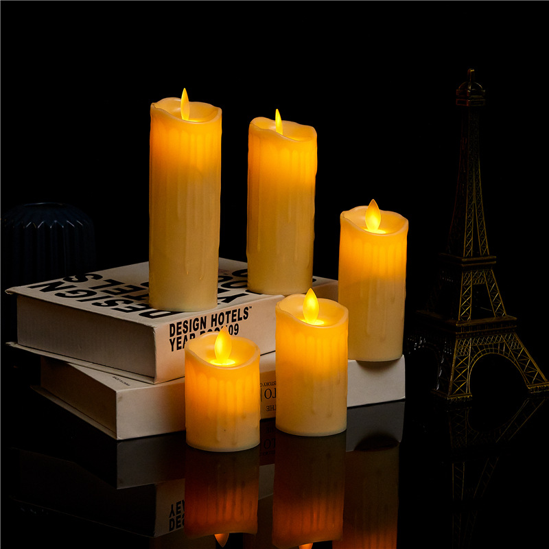 CHENGYI Tears swing electronic candle led candle lamp stage performance props wholesale wedding banq
