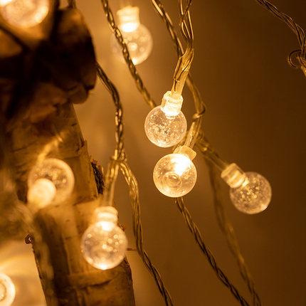 Bóng đèn LED đèn dây dẫn đèn phòng ngủ đèn nhấp nháy đèn dây cô gái trái tim đèn trang trí phòng pho