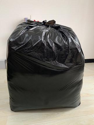 Túi xốp 2 quai  Đặc tính vệ sinh cực lớn dày 80 màu đen cực lớn túi rác thương mại túi áo vest thươn