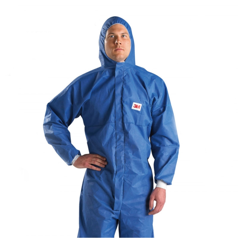 3M 4532 + BLUE HOODED one-piece protective clothing anti radiation chemical clothing spray paint clo