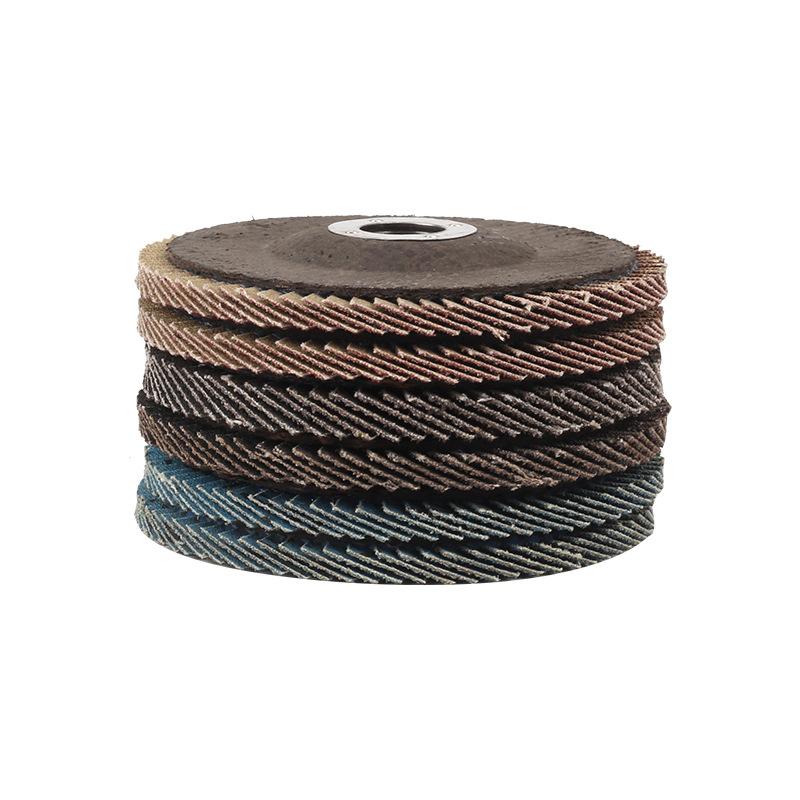 Chaoyujinying 100 mm shutter grinding tool polishing wheel angle grinder shutter wheel aluminum grin