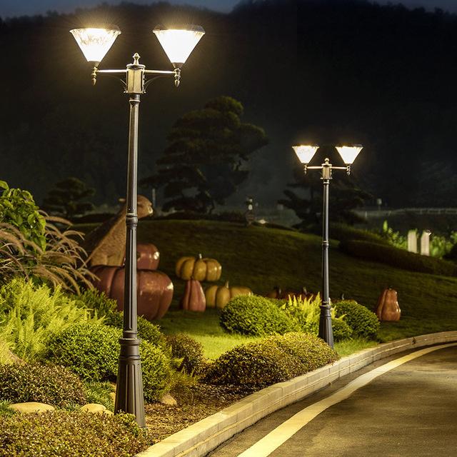 JUNMA Solar courtyard outdoor street lamp household villa garden community landscape outdoor waterpr