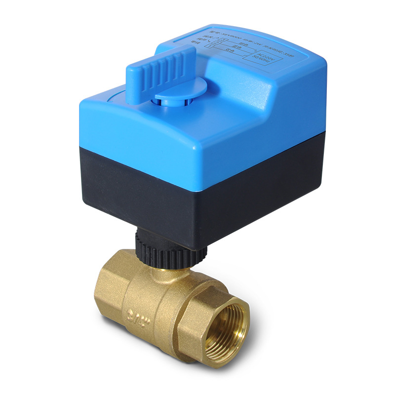 CNOG Manual electric two way ball valve micro electric valve three wire two control electric two way