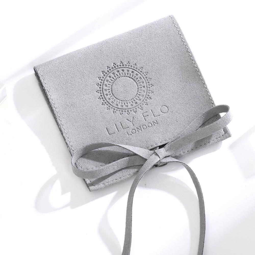 Flannel jewelry bag flip flannel bag jewelry envelope flannel bag super fiber bundle pocket
