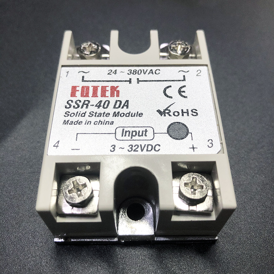 LEFAVOR Single phase solid state relay contactor SSR DC controlled AC relay 40da DC controlled AC re