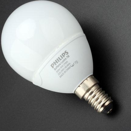 Bóng đèn LED Bóng đèn hình cầu Philips ánh sáng mềm tiết kiệm năng lượng bóng đèn bảo vệ mắt E14 bón