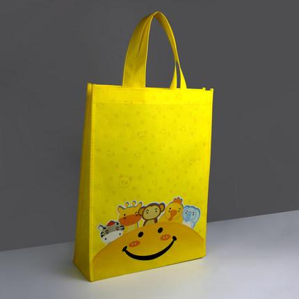 Túi vải không dệt  Túi vải không dệt tráng màu, túi bảo vệ môi trường tùy chỉnh, túi bọc đào tạo và