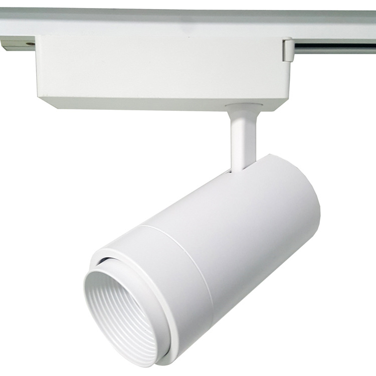 YOUDAYUAN Track lamp LED track lamp focusing track lamp mall exhibition hall zoom spotlight 15w24w36