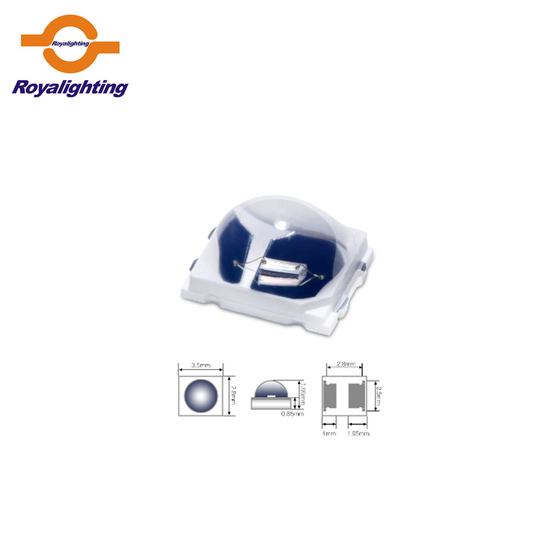 Royalighting UV chip light source LED chip 2835 365nm band spot supply UVA 2835 chip UV lamp