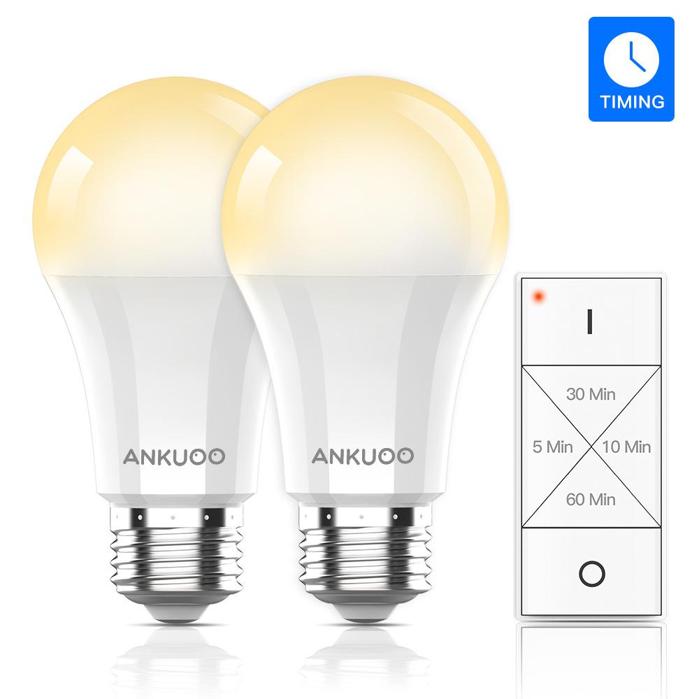 LED bulb intelligent bulb dimming timing energy saving bulb bulb lamp plastic coated aluminum remote
