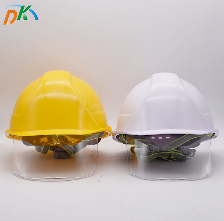 DK Construction site safety helmet ABS breathable helmet construction site labor protection anti sma