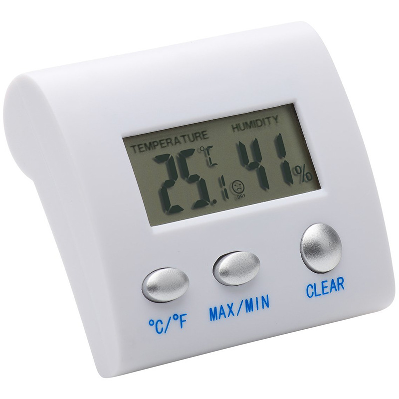 A practical small electronic thermometer and hygrometer with digital display