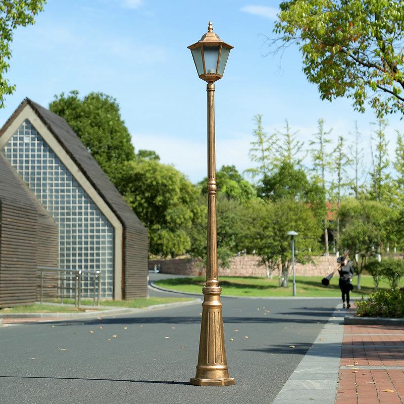 DEFENG 3M European garden lamp LED street lamp lawn lamp waterproof lamp outdoor landscape lamp sing