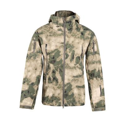 Áo nguỵ trang lính 2020 áo khoác ngoài trời mới ấm áp da cá mập vỏ mềm đàn ông và phụ nữ có thể mặc
