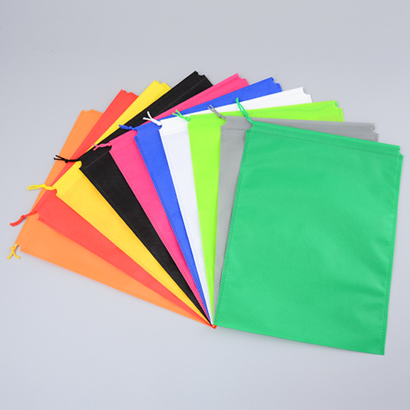 MAIYUAN Non woven cloth bundle pocket custom made shoes and clothing dust-proof storage packaging ba