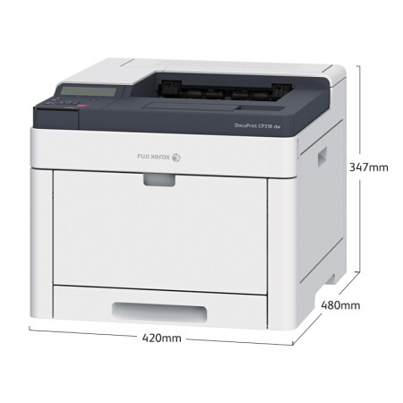 Fuji Xerox cm318w color printer laser A4 printing copy scanning fax all in one wireless two-sided ma