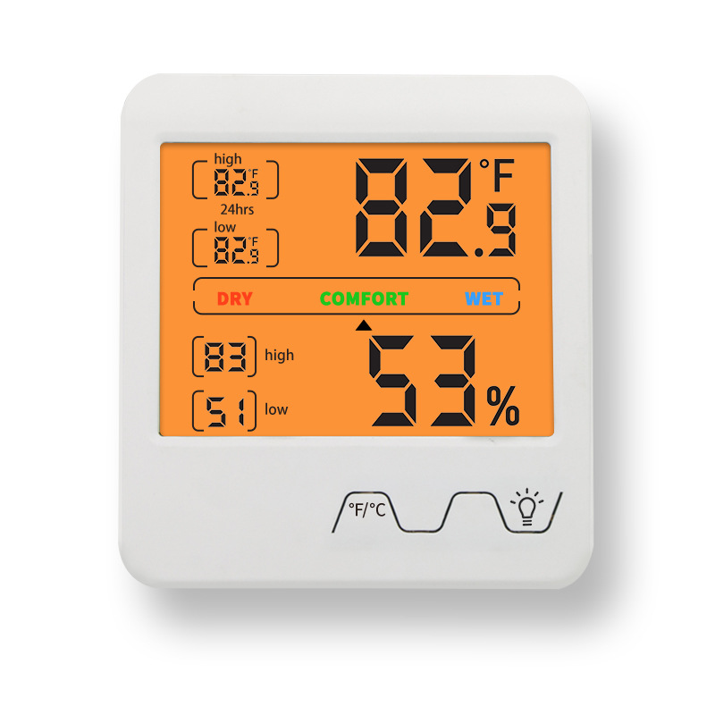 Large screen temperature and humidity meter digital indoor temperature and Humidity Instrument Wirel