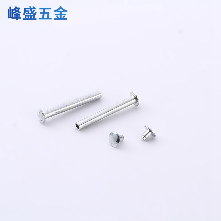 JINXIANG Stainless steel rivet and nut rivet national standard semi hollow rivet manufacturer supply