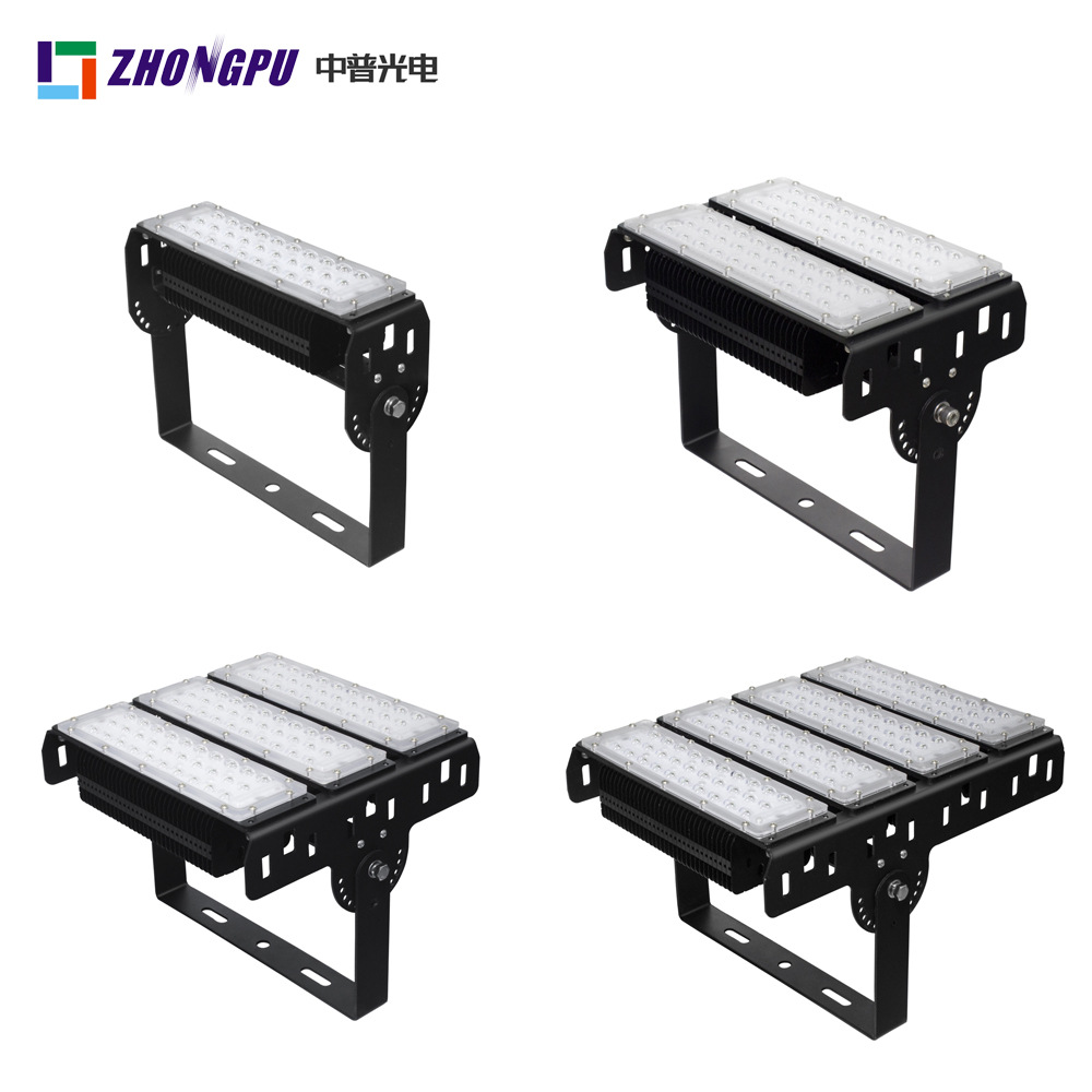 Module LED tunnel light 100W outdoor projection light 200W construction site tunnel led floodlight 5