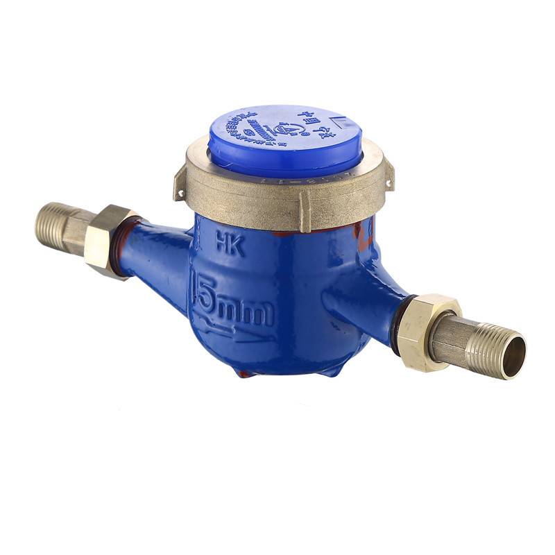 YISHI DN20 household and civil measuring instrument cold water meter screw thread copper connection