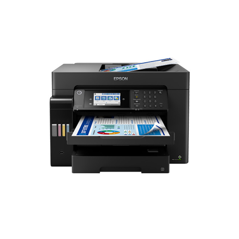 Epson L15168 color A3 wide label printer commercial industrial printing copy scanning fax four in on
