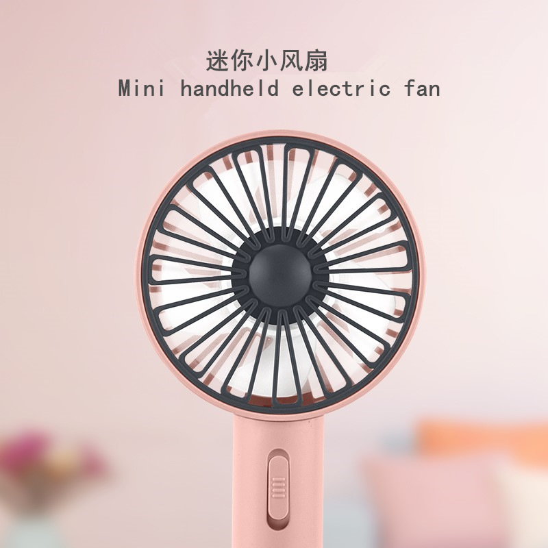 ODY Summer hot style mini handheld fan USB charging desktop vertical portable night light small fan