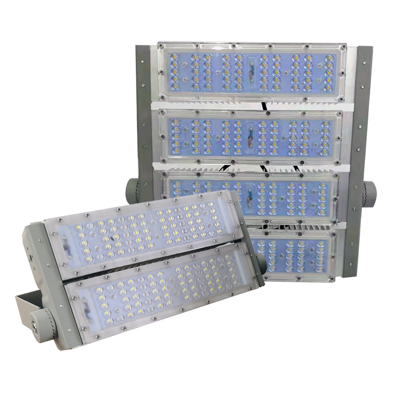 MWKR LED tunnel light 100w300w module floodlight advertising Plaza outdoor waterproof stadium sd-led
