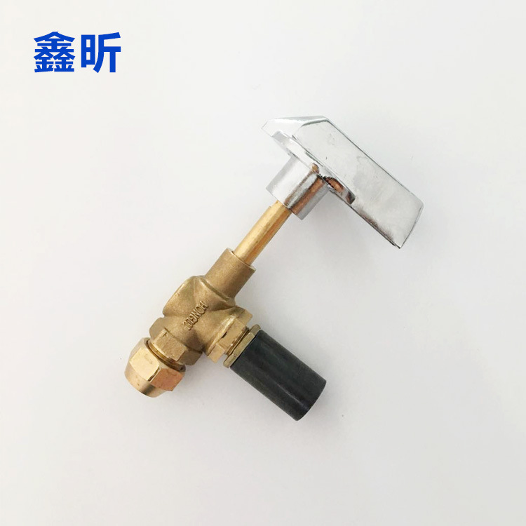 XINXIN Lengthening the valve in front of the stove t-fire valve gas ball valve thickened handle soup