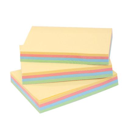 Deli Giấy note  tiện lợi nhãn dán dải màu ghi chú nhãn dán thông điệp takeaway học sinh này sử dụng