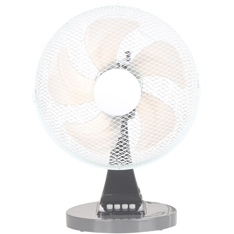12 inch household electric fan shaking head dormitory table type electric fan pedestal silent three
