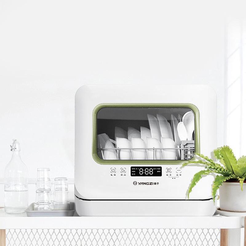 Intelligent automatic desktop household dishwasher Yangtze dishwasher