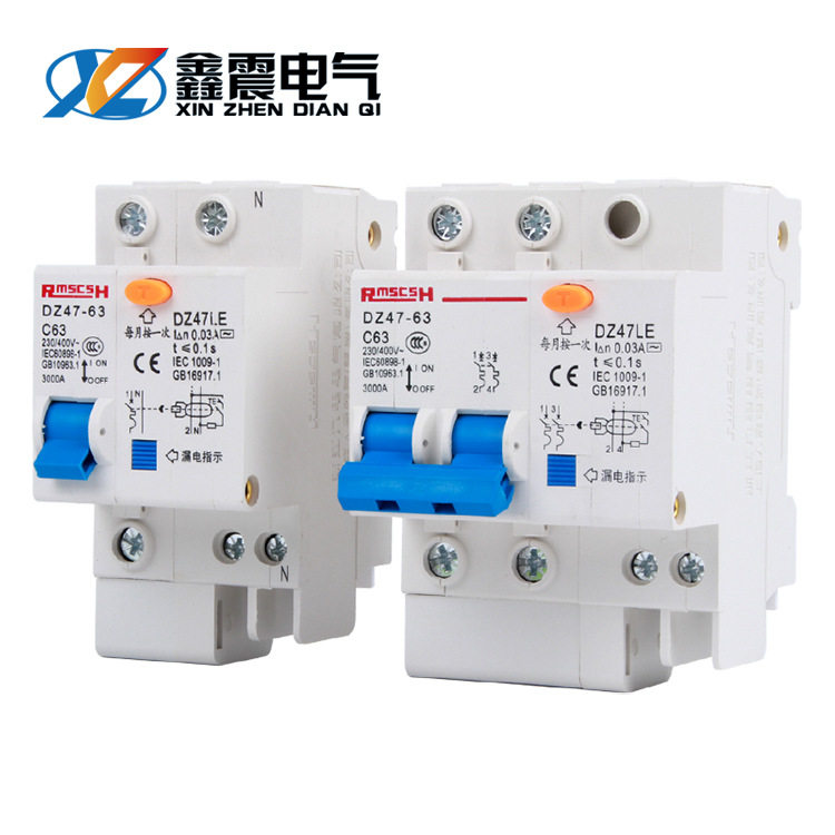 CHKL Manufacturer dz47le-63 miniature circuit breaker household leakage protection switch air switch