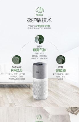 Máy lọc không khí gia đình Philips AC3036 loại bỏ khói formaldehyde