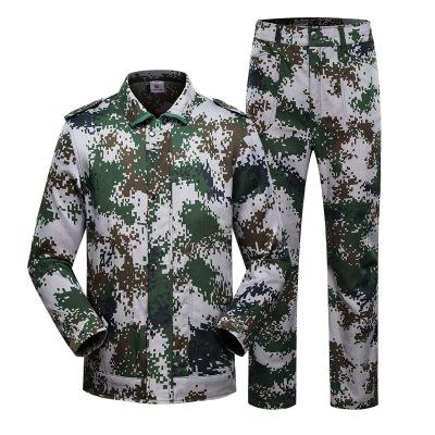CEEMUOIS Áo nguỵ trang lính Bộ quần áo đào tạo ngụy trang bộ quần áo đào tạo thể thao ngoài trời bộ