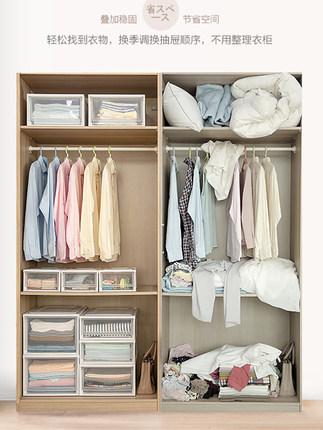 Thùng nhựa ngăn kéo hộp lưu trữ quần áo tiện dụng .