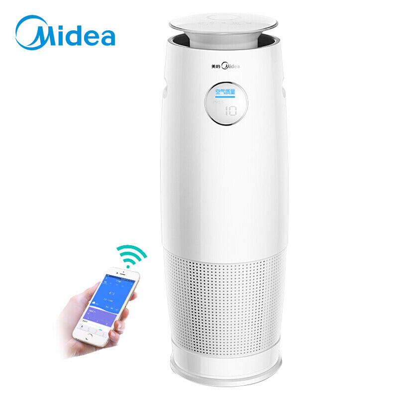 Midea kj400g-b21 air purifier humidification integration, formaldehyde removal, haze removal, dust r