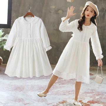 phelfish Đầm váy trẻ em Cô gái quần áo mùa thu năm 2020 trẻ em váy hàn quốc phiên bản trẻ em công ch