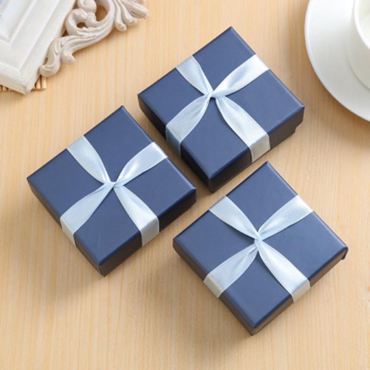 QINGYI Small jewelry box wholesale customized paper box manufacturers customized crystal jewelry spe