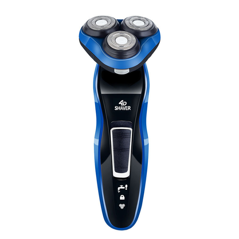 New 7701 waterproof 4D multifunctional electric shaver with nose hair