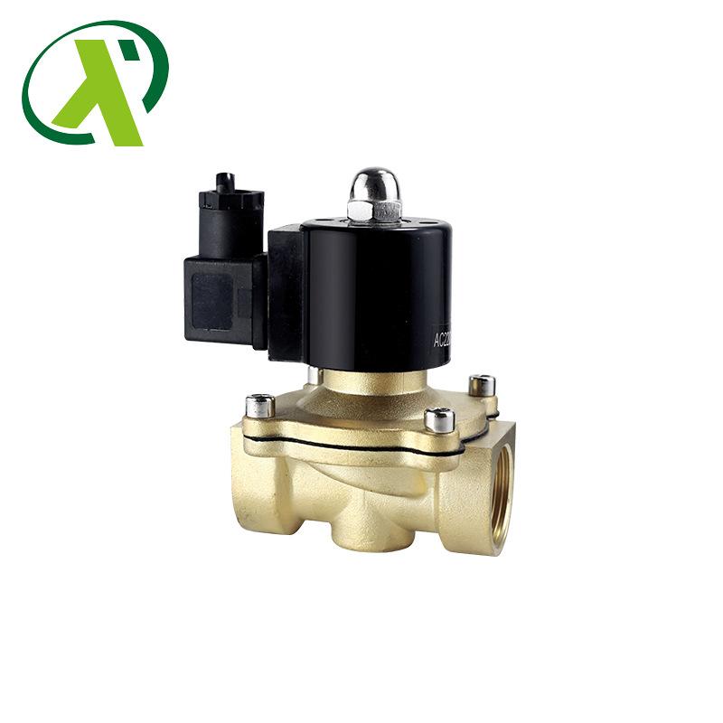 Industrial direct acting waterproof explosion proof solenoid valve one way copper thread solenoid va