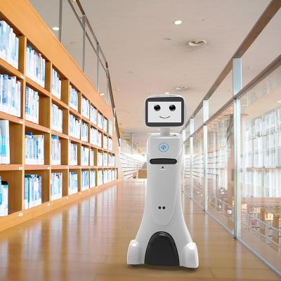 AIMI Rôbôt  / Người máy Robot dịch vụ thương mại chính phủ quản lý trung tâm mua sắm khách sạn khách