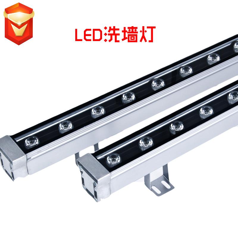 MINGYAN Led wall washing lamp 18w24w36w bridge building lighting line lamp outdoor advertising water
