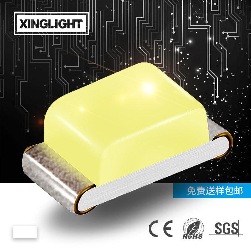 XINGLIGHT Bright front luminous lamp bead chip type 0402 LED white white LED indicator