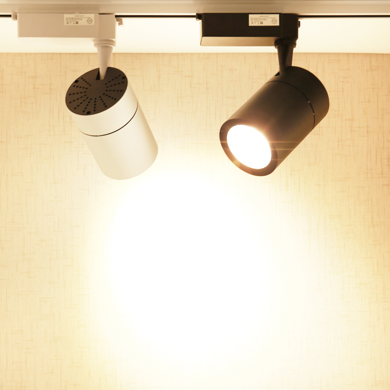 ZHUIGUANG LED spotlight clothing store commercial track light super bright cob surface mounted house