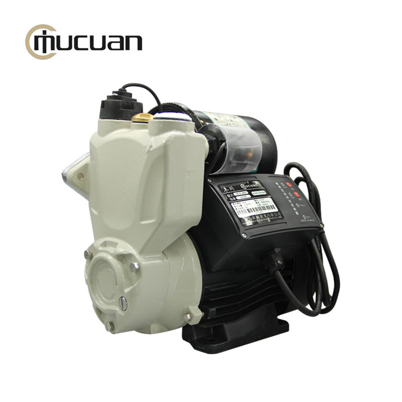 MUCUAN New intelligent flow and pressure dual control automatic domestic hot and cold water booster