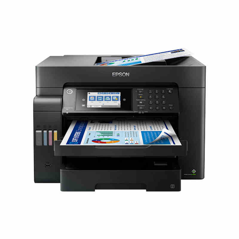 Epson l15158/14158/15168 wireless automatic double-sided printing, copy scanning and fax integrated