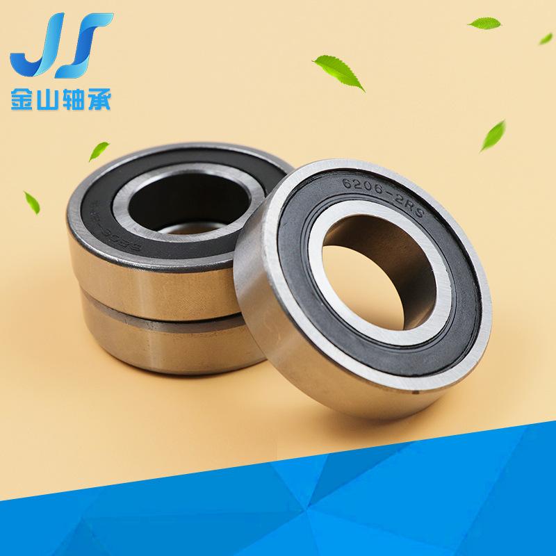 6206 labor car bearing carbon steel construction ball deep groove ball tipper ash cart bearing 2RS