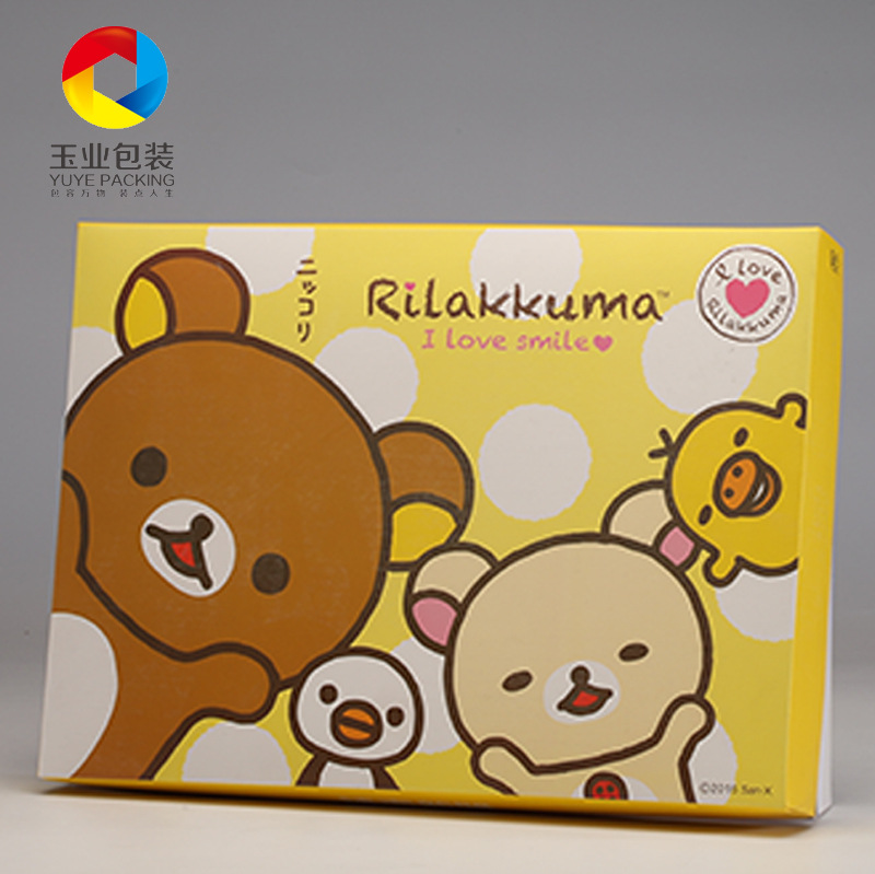 YUYE Clothing carton children's underwear box baby bath towel color box home clothing gift box unde