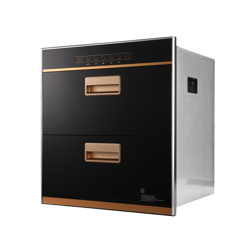 Disinfection cabinet embedded household tableware disinfection cupboard infrared high temperature di