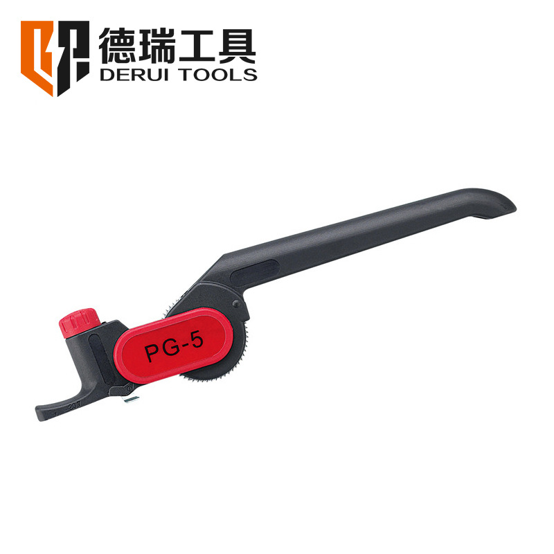IDEIRUI Derui tool cable stripper pg-5 manual peeling cutter round cable ≥ 25mm